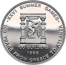 100 Guilders (Jeux olympiques Atlanta 1996) – revers