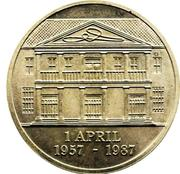 30 gulden (banque centrale) – revers