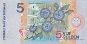 5 Gulden – revers