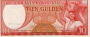 10 Gulden (1963 Issue) – avers