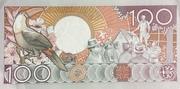 100 Gulden – revers