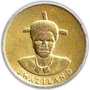 1 lilangeni - Mswati III – avers