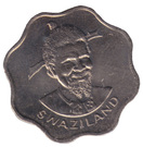 10 cents - Sobhuza II (FAO) – avers