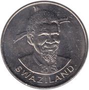 1 lilangeni - Sobhuza II – avers