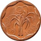 10 cents - Mswati III – revers