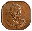 2 cents - Sobhuza II – avers