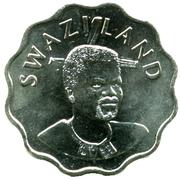 20 cents - Mswati III – avers