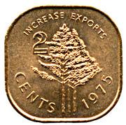 2 cents - Sobhuza II (FAO) – revers