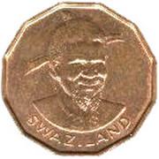 1 cent - Sobhuza II – avers