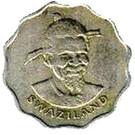5 cents - Sobhuza II – avers