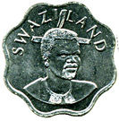 10 cents - Mswati III – avers
