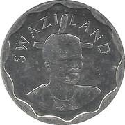 20 cents - Mswati III (grand module) – avers