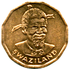 1 cent - Sobhuza II (FAO) – avers