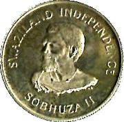 1 luhlanga - Sobhuza II – avers