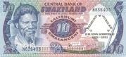 10 Emalangeni  commemorative banknote – avers
