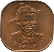 2 cents - Sobhuza II (FAO) – avers