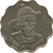 20 cents - Sobhuza II – avers
