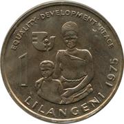 1 lilangeni - Sobhuza II (FAO) – revers