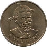 1 lilangeni - Sobhuza II (FAO) – avers
