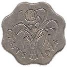10 cents - Sobhuza II – revers