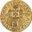 1 dukat Charles XI (3e portrait; avec un cercle intérieur) – revers