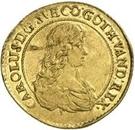 1 dukat Carl XI (1er portrait) – avers