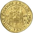 1 dukat Carl XI (1er portrait) – revers