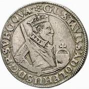 ½ dalderi Gustav II Adolf – avers