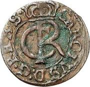 1 solidus Charles XI (Riga) – avers