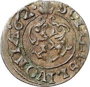 1 solidus Charles XI (Riga) – revers