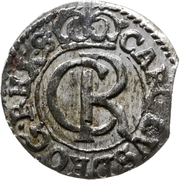 1 solidus Charles XI – avers