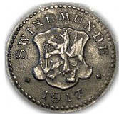 10 pfennig - Swinemünde – avers