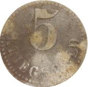 5 pfennig - Swinemünde – revers