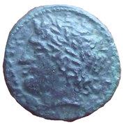 Hémilitron d'Agathoklès de Syracuse – avers