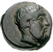 Bronze Æ16 (Syros) – avers
