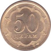 50 Diram (magnétique) – revers