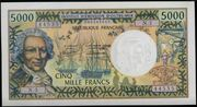 5000 francs – avers