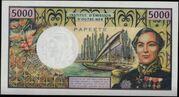 5000 francs -  revers
