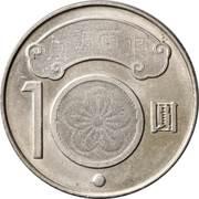 10 yuan (Chiang Wei-shui) – revers