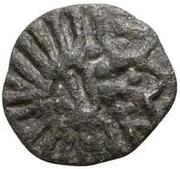 1 denier (Croix, cercle) – avers
