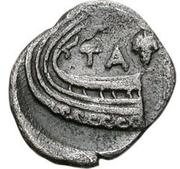 Obol (Tanagra) – revers