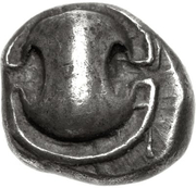 Obol (Tanagra) – avers