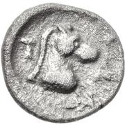 Hemiobol (Tanagra) – revers