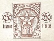 0.50 Francos – revers