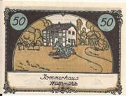 50 Pfennig (Tangstedt) – revers