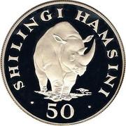 50 Shilingi (WWF) – revers