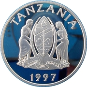 200 Shillings (Faune africaine) – avers