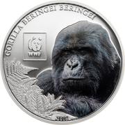 100 Shillings (Gorille de montagne) – revers