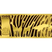 1500 Shillings (Léopard) – avers