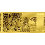 1500 Shillings (Léopard) – revers